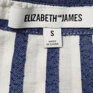 Elizabeth and James Tops - Elizabeth James Collared Longsleeve Button Down .